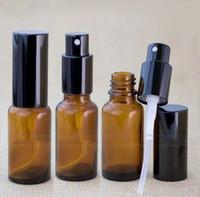 ingrosso black market gold-Commercio all'ingrosso 30ml bottiglie di bottiglie di pompelmo di vetro di bottiglia di profumo di bottiglia di spruzzo di profumo vuoto e vuoto con berretto d'argento d'oro nero per vendita