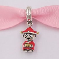 Wholesale god charms resale online - Authentic Sterling Silver Beads The God Of Wealth Charms Fits European Pandora Style Jewelry Bracelets Necklace ENMXCN