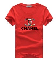 neue design-tops für mädchen großhandel-Neue Sommerfrauenmänner beiläufiges T-Shirt Jungenmädchen t-Stück italienischer Entwurf Kurzhülse Druckoberteile Studenten T-Shirts # 077