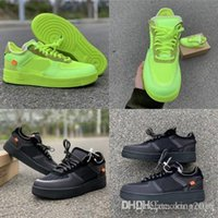 Wholesale led sneaker 46 for sale - Group buy 2019 New Volt Forced Low Running Shoes Green Black Mesh Upper Mens Women Fashion Leading TOP Designer Sports Sneakers Size