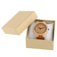 ingrosso scatola di carta gialla-Logo personalizzato per i gioielli delle ore di orologio