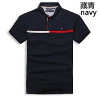 homens spandex t shirt venda por atacado-2019 famosa marca mens designer t camisas de algodão de alta qualidade verão homens t-shirt moda homem curto tshirts