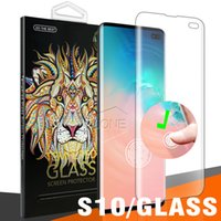 3d baskı ekranı toptan satış-Samsung Galaxy S10 Artı S10E Yumuşak TPU dokunmatik dostu parmak baskı KIMLIK Ekran Koruyucu Film Tam Kapak Ekran