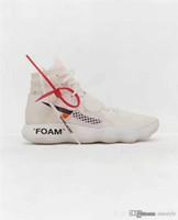 ingrosso le scarpe da tennis di pallacanestro di marca-Moda nuovo arrivo 2019 Off uomini di marca scarpe da basket donna Sneakers per scarpe da ginnastica uomo bianco Running chaussures Sneaker TAGLIA 5-12