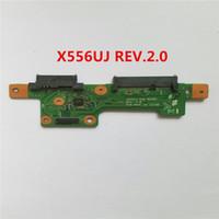 hdd rev toptan satış-X556UJ HDD IO KURULU REV 2.1 Dizüstü PC kurulu için güç swith Pro ses USB HDD