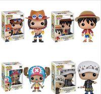детские игрушки из турции оптовых-Новые 4 стиля Funko POP Аниме: One Piece Трафальгарский закон Винил Фигурка с коробкой # 100 Популярная игрушка Gify