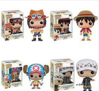ingrosso un pezzo azione figura la legge-Nuovi 4 stili Funko POP Anime: One Piece trafalgar law Vinyl Action Figure With Box # 100 Toy Gify