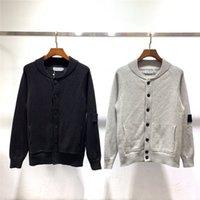 ingrosso maglione lungo del manicotto-19ss Azienda Maglione Donne progettista del mens maglione di marca Classic Mens manica lunga Felpe SI PULSANTE Felpe lettera stampata B101546T
