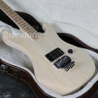 elektrikli gitar bitmemiş gövde toptan satış-JEN6U006 Bitmemiş 5150 Elektro Gitar Kitleri Basswood Vücut YOK Boyama