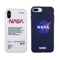 amerikanische telefone großhandel-Beliebte amerikanische Trend Astronaut Raum Fall für iPhone X XR XS MAX 7 8 6 S plus weiß weichem Silikon TPU Luxus Telefon Abdeckung Coque