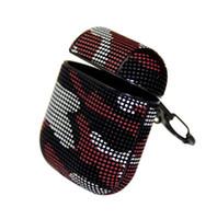 fones de ouvido militares venda por atacado-Alta qualidade Universal Flip Militar cor Headset Case Bag Caso capa para airpods I II com clip
