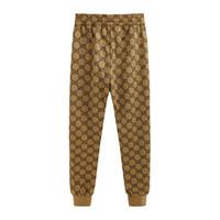 mens butik toptan satış-GG pantolon marka erkek tasarımcı pantolon yeni butik sınırlı sayıda pantolon klasik atmosfer eğilim rahat pantolon açık spor spor eşofman