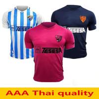 ingrosso pullover di sconto migliore-19 20 Malaga maglie di calcio 2019 2020 OKAZAKI Jersey Juanpi ADRIAN Football Shirt SANTOS camiseta de futbol Malaga CF NDIAYE