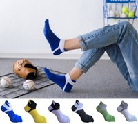 Wholesale wholesale socks for women for sale - Retro adult five finger toe socks men women stripes soft comfortable cotton blend casual fashion comfortable stocking for different colors