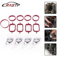 Wholesale RASTP mm Diesel Swirl Flap Blanks Intake Manifold Gaskets Repair Replacement Kit for BMW M57 RS CR1819