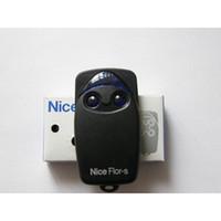 rolling code remote ersatz großhandel-20pieces Die Ersatzfernbedienung für Nice Flor-s Rolling Code Remote Garagentor 433 MHz Freies Verschiffen