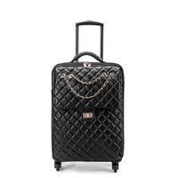 maleta de equipaje de viaje al por mayor-Designer-Spinner Leather 2025