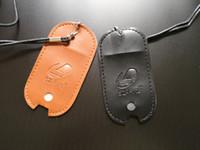 ingrosso caso di trasporto della penna-Zero PU Leather Lanyard Neck Chain Pouch Case Borsa da trasporto Shell Cover Sleeve Collana Corda per Vaporesso Zero Vape Pen Pod