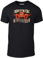 marka gerçeği toptan satış-Reality Glitch Erkekler Ben Yaramazlık T-Shirt hedefliyoruz. Komik marka t shirt erkek güzel yaz t-shirt Tops