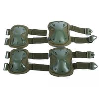 Wholesale suit protectors resale online - Outdoor CS Field Equipment Tactical Knee Pads kneecaps Suit A Pair of Knee Pads A Pair of Elbow Protector