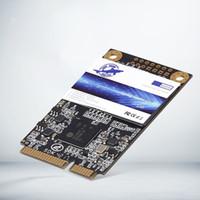 sata yarıiletken sürücüler toptan satış-Dogfish mSATA 500 GB Dahili Katı Hal Sürücüsü mini SATA SSD Disk