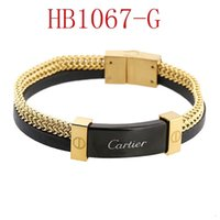 Wholesale fashion bracelet steel for sale - Group buy New Brand designer bracelet For Men Fashion High end Quality For Ladies Jewelry With Gold Rose Gold Silver color Drop Shipping