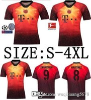 james rápidos venda por atacado-navio rápido Bayern de Munique 4º EA SPORTS JAMES Camisas de futebol 2018 2019 LEWANDOWSKI MULLER KIMMICH camisa 18 19 HUMMELS camisa De Futebol uniforme