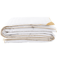 ingrosso coperta bianca del regno-trapunta in cotone bianco invernale trapunta Piumino coperta in piuma d'oca bianca King Queen Twin size PD-GC15003