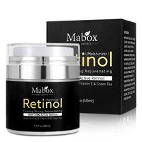 MABOX Retinol 2.5% Moisturizer Face Cream and Eye Vitamin E Best Night and Day Moisturizing Cream