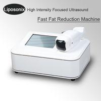 Wholesale slim spa beauty equipment resale online - Best selling lipo hifu liposonix machine high intensity focus ultrasound weight loss slimming beauty spa equipment with cartridges