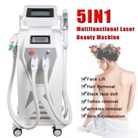 Wholesale yag hair removal laser system for sale - Group buy e light ipl hair removal system rf radio frequency skin lifting machine intense pulse light removal rf ipl laser elight machines