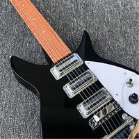 Wholesale clear electric guitar resale online - mm full size neck Ricken Electric guitar Rosewood fingerboard with clear paint finish Real photos