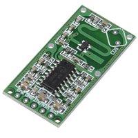 mikrodalga radar sensörü toptan satış-0516 Mikrodalga Radar Sensörü İnsan Vücudu İndüksiyon Anahtarı Modülü Kurulu Akıllı