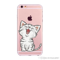 iphone 5s telefone preço venda por atacado-Preço de fábrica de silicone cat phone case capa para iphone7 plus 8x6s 5s 5 case preço por atacado e50