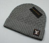 Wholesale winter caps for women resale online - 2020 Newest Fashion classic Good Quality Luxury Brands V Autumn Winter Unisex wool hat casual Letter hats For Men women designer cap