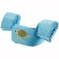 bebek yüzme yelekleri toptan satış-Çocuklar için bebek Yüzer Yüzmek Sürüklenme Su Spor Çocuklar Açık Yüzme Ekipmanları Çocuk Can Yeleği Can Yeleği Unisex