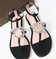 Wholesale metal casual shoes resale online - 2019 fashion design women shoes summer Metal chain details Handmade sandals Hardware chain gold buckle Fashion leather sandals