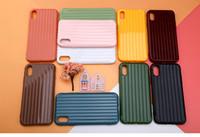 nouveau coffre à bagages achat en gros de-Nouveau cas de téléphone de bagages pour iPhone XI XIR XS MAX XR 8 7 6 6S Plus mignon coffre TPU + PC couverture arrière Coque