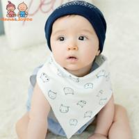 Wholesale burp cloths sale for sale - Group buy Sale Mix20pc New Cotton Baby Bibs Burp Cloths Fashion Animal Print Baby Bandana Bibs Dribble
