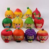 детские игрушки для детей оптовых-2019 Новый Squishy игрушки Pu симуляторы Fruit Doll Squishy Медленно Поднимаясь декомпрессия взрослая игрушка Squishies детей выдавливание игрушки