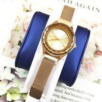 japão beleza mulheres venda por atacado-Agradável Novo Modelo de Mulheres Relógio de Pulso Da Senhora de Quartzo De Luxo fivela Magnética Dial Rhombus Luxo luxo movimento do quartzo japão festa de beleza holofotes