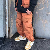 Wholesale printing logos pants resale online - 19SS Box Logo Camo Cargo Pant Pant Designer Sweatpants Fashion Sport Casual Street Men Women Outdoor Pants HFYMKZ167