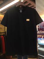secadora de ropa encogible al por mayor-19SS hombres diseñadores camiseta multi-letra de moda de impresión anti-encogimiento de secado rápido de los diseñadores de lujo de los hombres ropa