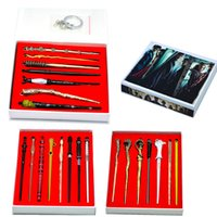 Wholesale kids toy basketballs for sale - Group buy 7 Roles Harry Potter Voldemort Magic Wand Set Magic Tricks Kids Toys Cosplay Sirius Magical Wand with Box Souvenirs Styles CCA11776 set