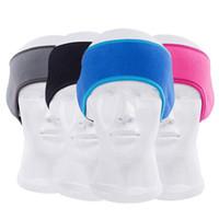 bedeckte stirnbänder groihandel-Ohr-Wärmer-Abdeckung Stirnband Wintersport Headwrap Fleece Gehörschützer für Männer Frauen Sport Stirnband KKA7535