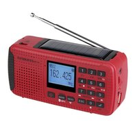 Wholesale portable mp3 recorder speaker for sale - Group buy Portable Radio MP3 Player Emergency Crank Solar Receiver FM Radio MW SW With TF Bluetooth MP3 Player Digital Recorder
