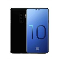 Wholesale unlocked android smart phones single sim for sale - Group buy Goophone S10 Plus inch MTK6580 Unlocked cell phone Quad Core Android G Ram G Rom phone Fake G