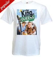 filme de tamanho queen venda por atacado-O Rei da Rainha ver.2 T-shirt branco Movie Poster todos os tamanhos S ... 5XLFunny Impressão T Camisas Dos Homens de Manga Curta T-shirt