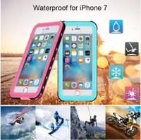 iphone caso de surf al por mayor-Redpepper Funda impermeable Pimienta roja Natación Surf Estuches de agua Cubierta a prueba de suciedad para iPhone XS Max XR X XS 6 6 más