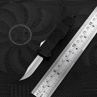 3cr13 paslanmaz çelik bıçak toptan satış-Yeni C07 Mini çift eylem otomatik av kamp bıçağı defansif taktik bıçak EDC el aleti açık 3cr13 paslanmaz çelik bıçak